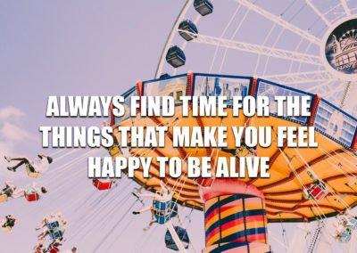 Always find time