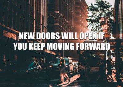 New doors will open