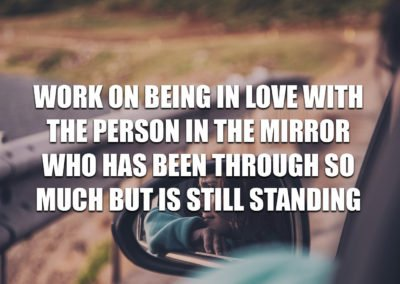 Work on being in love